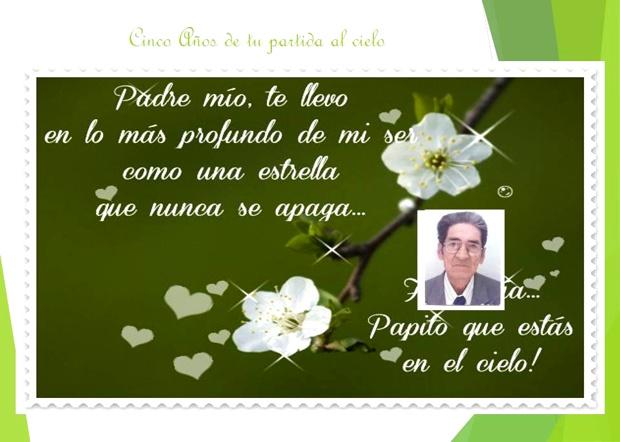 5 Aniversario del sensible fallecimiento de Alfonso Luna Solano