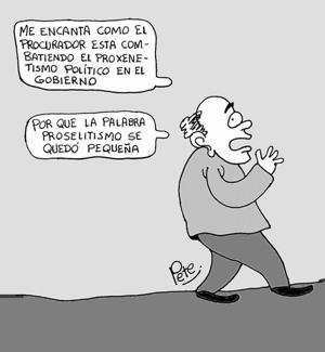 Caricatura del día - Proxenetismo Político en Colombia - Pete