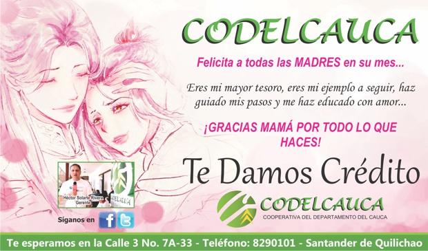 Codelcauca felicita a todas las madres en su mes