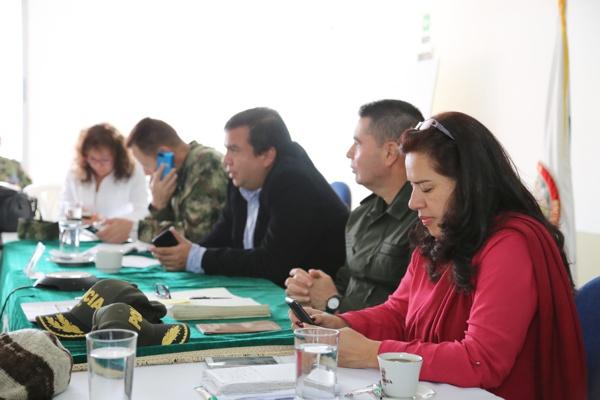 Consejo de Seguridad en el Departamento de Policía Cauca