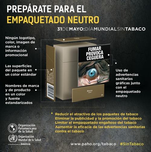 Día Mundial sin Tabaco - Empaquetado Neutro