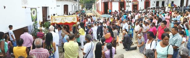 Fiesta del Cuerpo y la Sangre de Cristo en Caloto, Cauca1