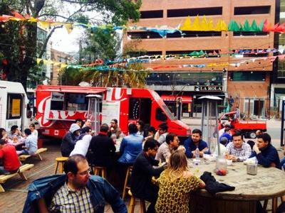 Food trucks en Bogotá