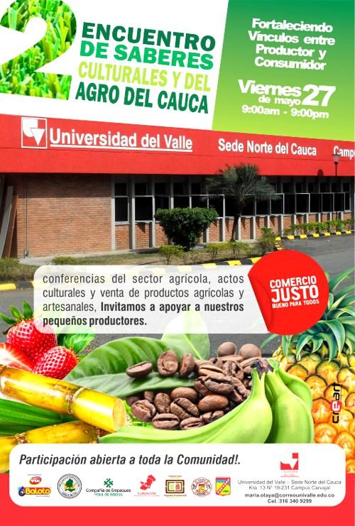 II Encuentro de Saberes Culturales y del Agro del Cauca - Universidad del Valle