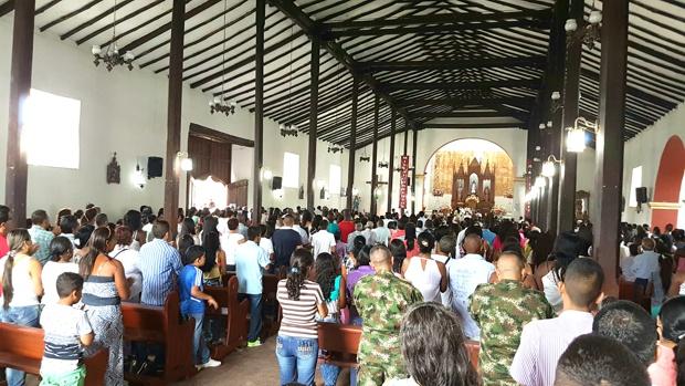Iglesia Niña María del municipio de Caloto, Cauca
