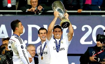 James Rodríguez - Campeón con el Real Madrid