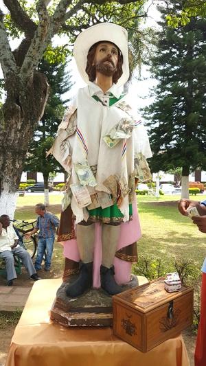 San Isidro Labrador, patrono de los agricultores de Caloto, Cauca
