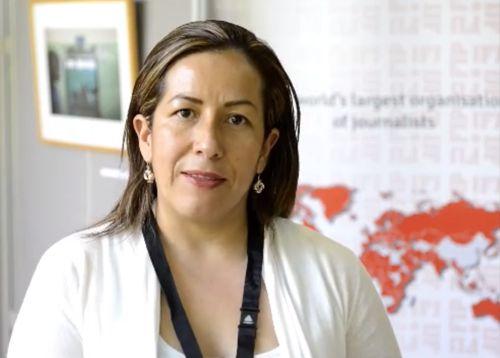Adriana Hurtado, presidente de la Fecolper