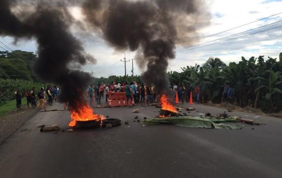 Consejo Gremial y Empresarial del Cauca, rechaza los bloqueos sobre la vía Panamericana
