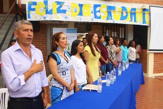 Día del Estudiante en la Institución Educativa Francisco José de Caldas - Santander de Quilichao