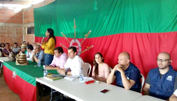 Gobierno e indígenas construyen ruta técnica para cumplimiento de acuerdos