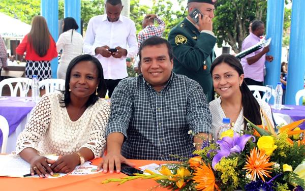 María Liliana Ararat, Óscar Campo y Beatriz Bohórquez