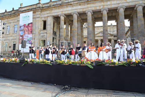Sonidos del Cauca dieron bienvenida a los acuerdos de paz 5