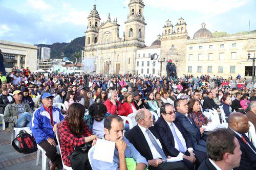 Sonidos del Cauca dieron bienvenida a los acuerdos de paz 6