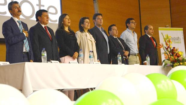 Vigésima Cuarta Asamblea anual, ANDELOTE, se instaló en Popayán