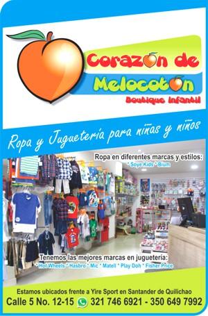 CORAZÓN DE MELOCOTÓN