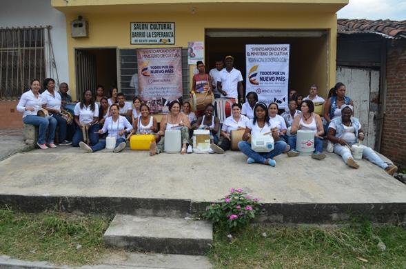 Escuela de Cánticos Afrocolombianos 1