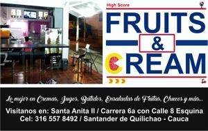 FRUITS & CREAM - SANTA ANITA 2 - SANTANDER DE QUILICHAO1