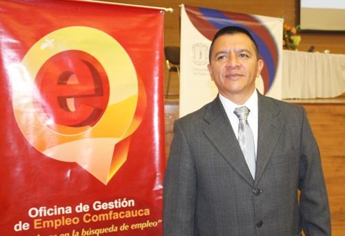 Gregorio Molano, director territorial del Ministerio del Trabajo - Cauca