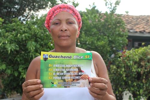 Guachené referendo
