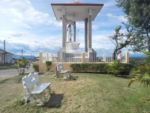 Parque de la Virgen del Carmen en El Tambo, Cauca