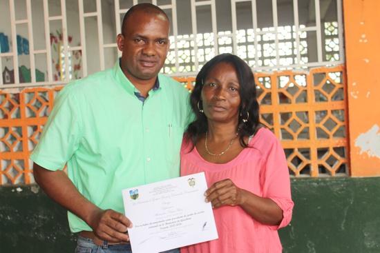 Se posesionó la Junta de Acción Comunal del Municipio de Guachené para el período 2016 - 2019-22
