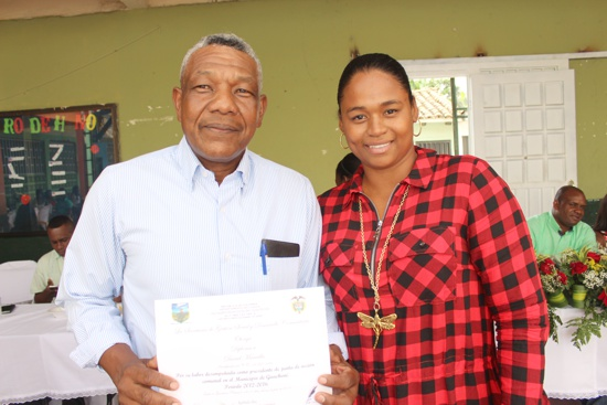 Se posesionó la Junta de Acción Comunal del Municipio de Guachené para el período 2016 - 2019-27