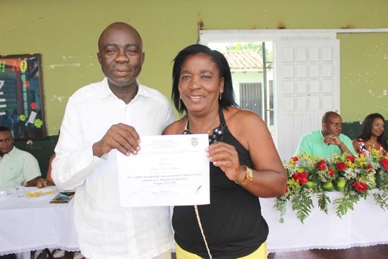 Se posesionó la Junta de Acción Comunal del Municipio de Guachené para el período 2016 - 2019-29