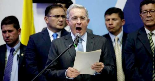 Medida de aseguramiento contra Álvaro Uribe