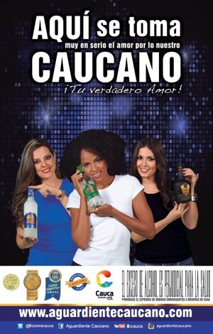 Aguardiente Caucano - Industria Licorera del Cauca