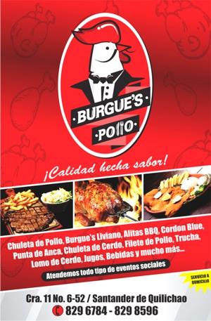 Burgue's Pollo - Santander de Quilichao - Cauca
