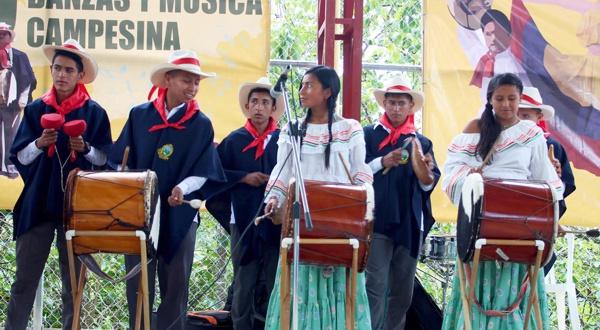 Chirimías, música y danzas tradicionales en Sotará, Cauca