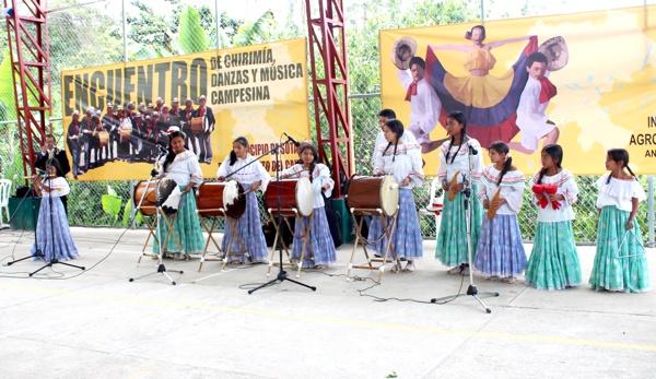 Chirimías, música y danzas tradicionales en Sotará