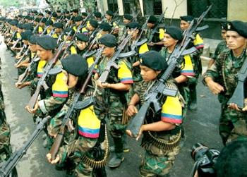 Desmovilización y entrega de armas de las Farc