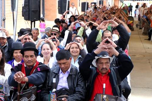 Familias vulnerables de Silvia, Cauca, disfrutan ya de su vivienda gratis1