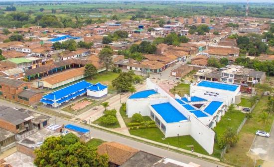 Fotografía aérea: Guachené, Cauca. - Proclama del Cauca.