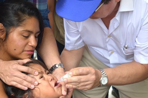 Hospitales para la Paz - Jornada Nacional de Vacunación en El Tambo, Cauca