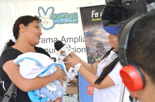 Jornada Nacional de Vacunación se llevó a cabo en El Tambo, Cauca