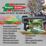 Laboratorio Super Color Digital en Santander de Quilichao