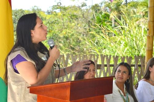Lucy Amparo Guzmán González - Secretaria de Salud del Cauca
