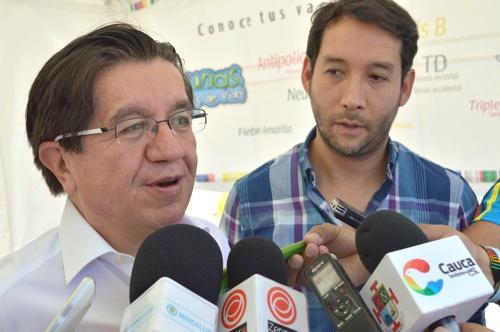 Viceministro de salud pública y prestación de servicios, Fernando Ruiz Gómez