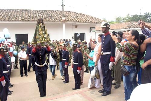 Caloto celebró las tradicionales fiestas patronales de la Niña María