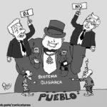 Caricatura del Día – El pueblo y el sistema oligarca – Pete