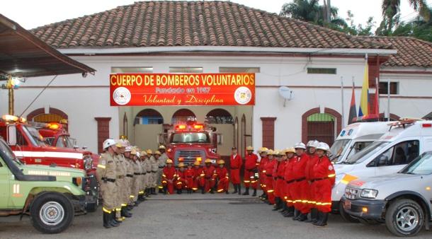 Hoy es el 63° aniversario de Bomberos Santander