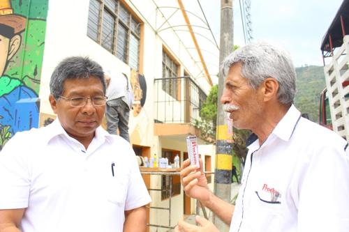 Alcalde municipal de Toribio, Alcibiades Escué Músicue