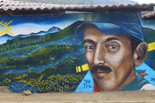 Toribío, el museo al aire libre del Cauca