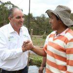 El Ministro de Agricultura entrega primer centro de acopio de papa para Totoró, Cauca