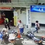 Hasta delante de la Policía roban en Santander de Quilichao