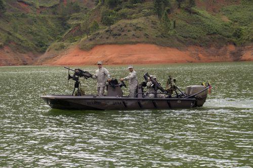 Embalse La Salvajina - Armada Nacional