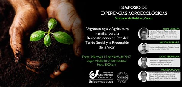 I Simposio de Experiencias Agroecológicas en Quilichao